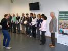 Offizielle Verleihung des Zertifikats am 10. November 2012